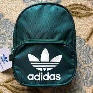 Dark Green Adidas Mini Backpack